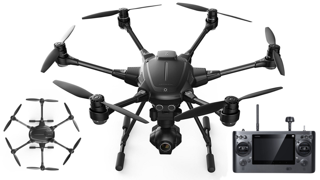 yuneec typhoon h 4k drone