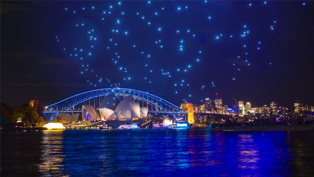 intel-shooting-star-drones-sydney