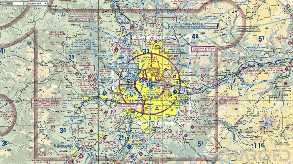 Do Check For Further Local Flight Laws However As They Will Not Be On This Vfr Map And May Not Be In The B4ufly Faa App For Example The Mt Hood