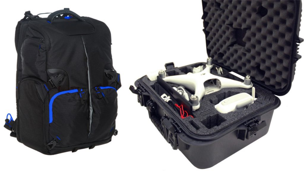 Drone accessories bag case