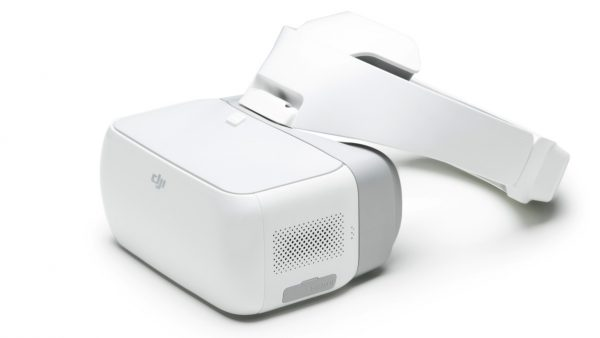 DJI Goggles band attached
