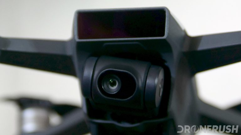 DJI Spark unboxing front 1080p camera