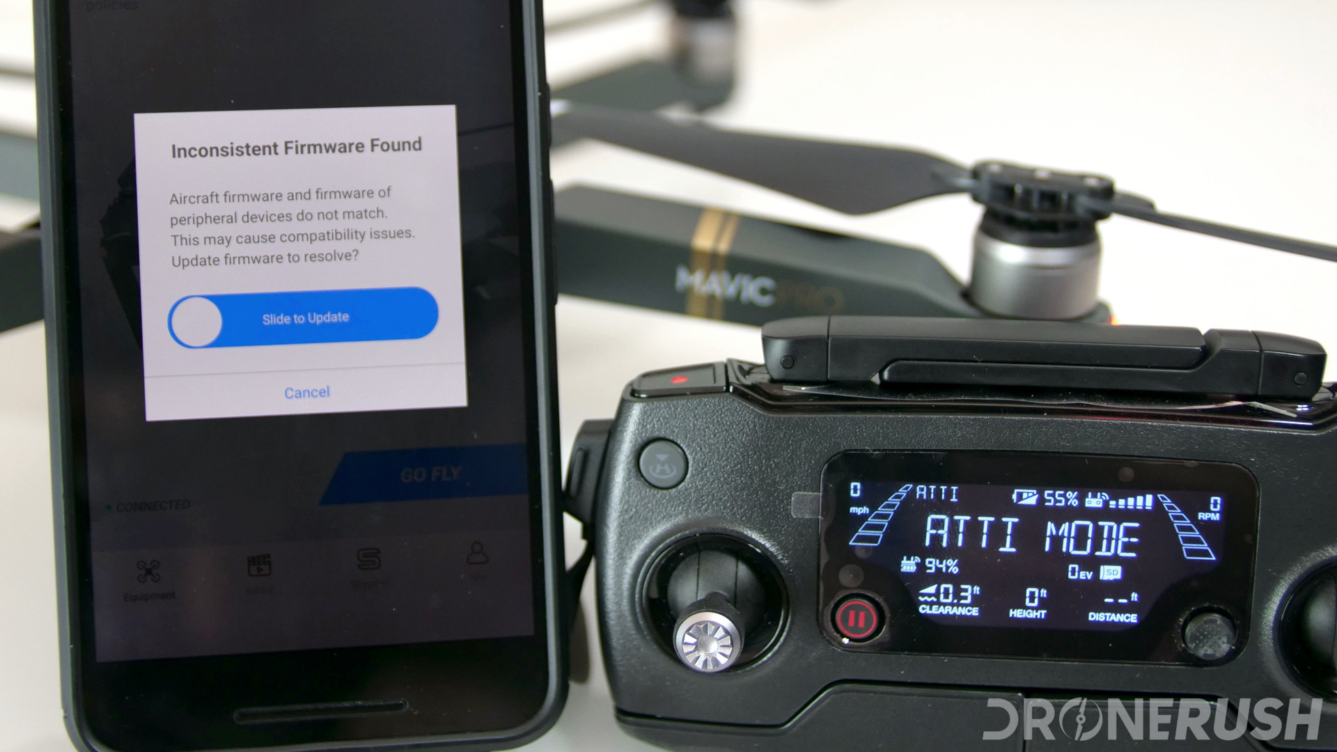 How to update DJI Mavic 2 Pro, Zoom, Mavic Air, Spark and