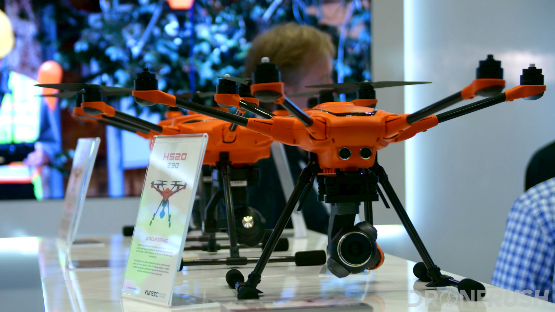The drones of InterDrone 2017 - Drone Rush