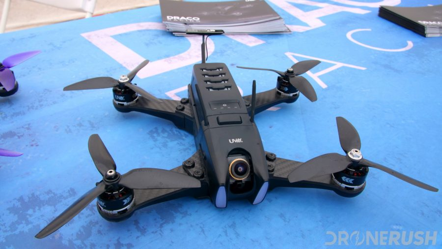 CES 2018 Drone Rodeo dr Uvify Draco HD racer 2