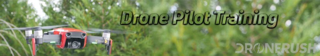 Drone Rush Drone Pilot Training Banner
