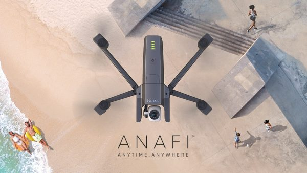 Parrot Anafi folding drone announced