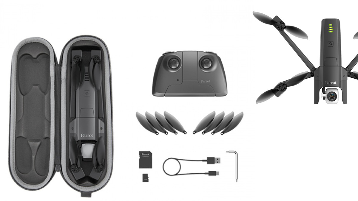 Parrot Anafi folding drone package