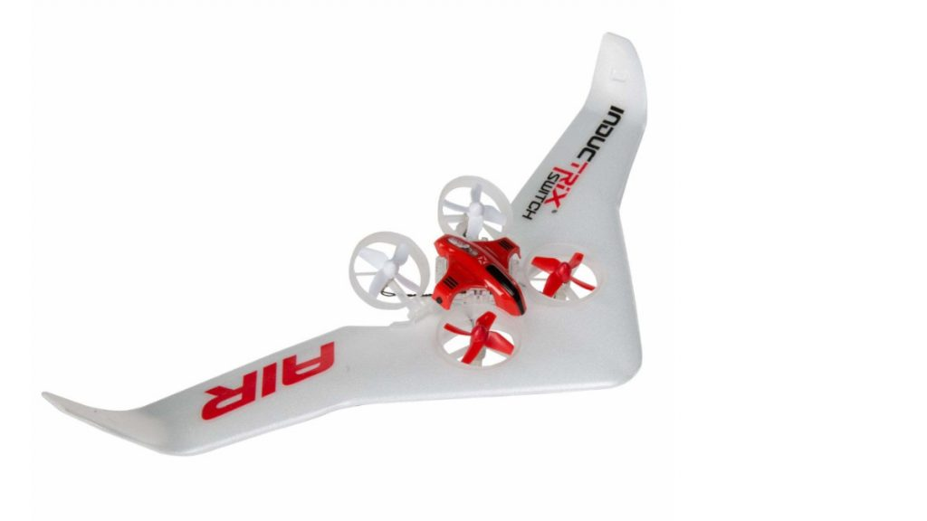 Blade Inductrix Switch Air VTOL drone top and side