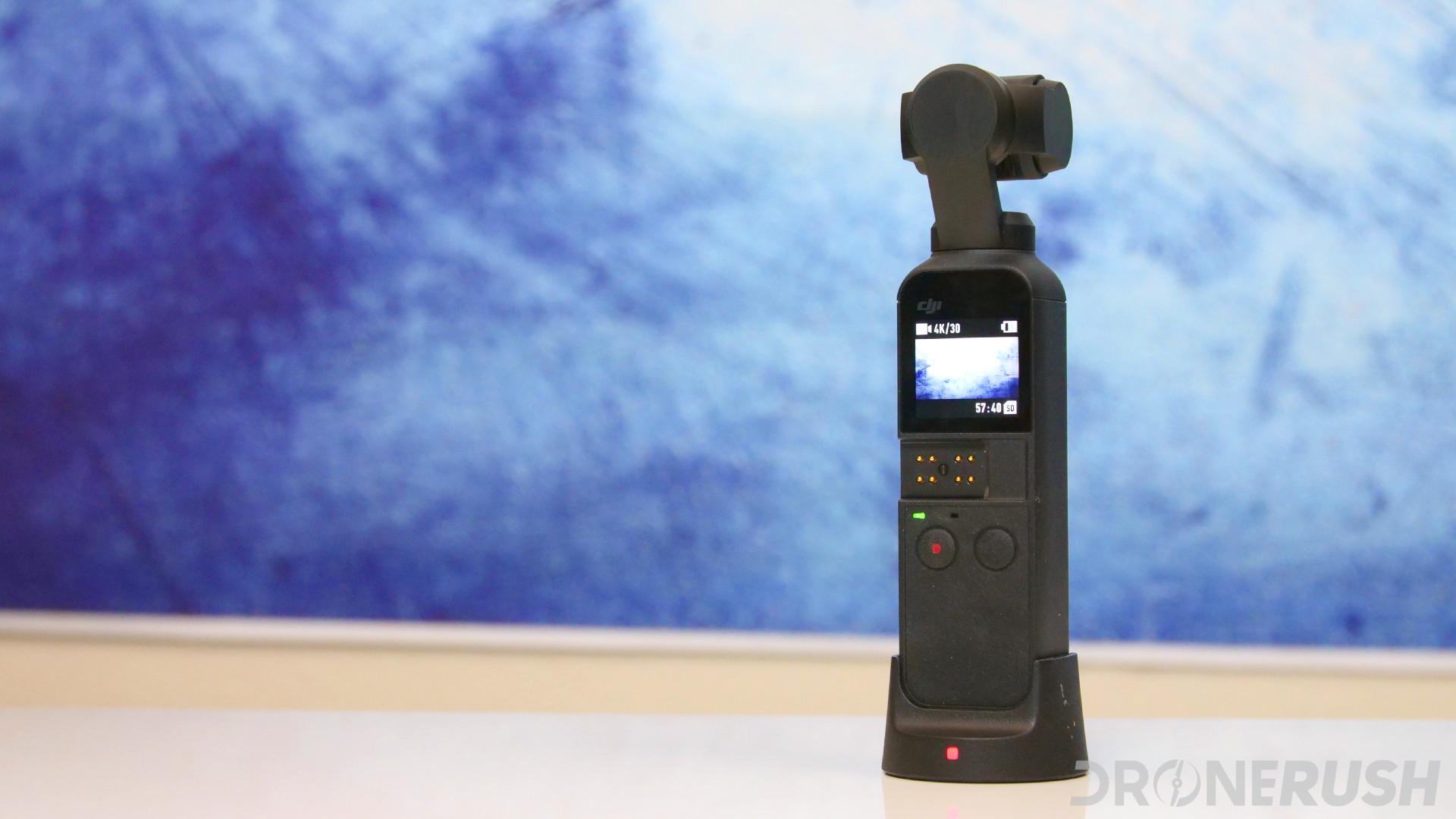 DJI Osmo Pocket on Osmo Wireless Module