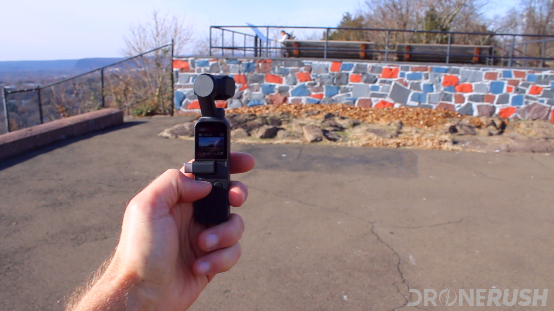 DJI Osmo Pocket photo of wall