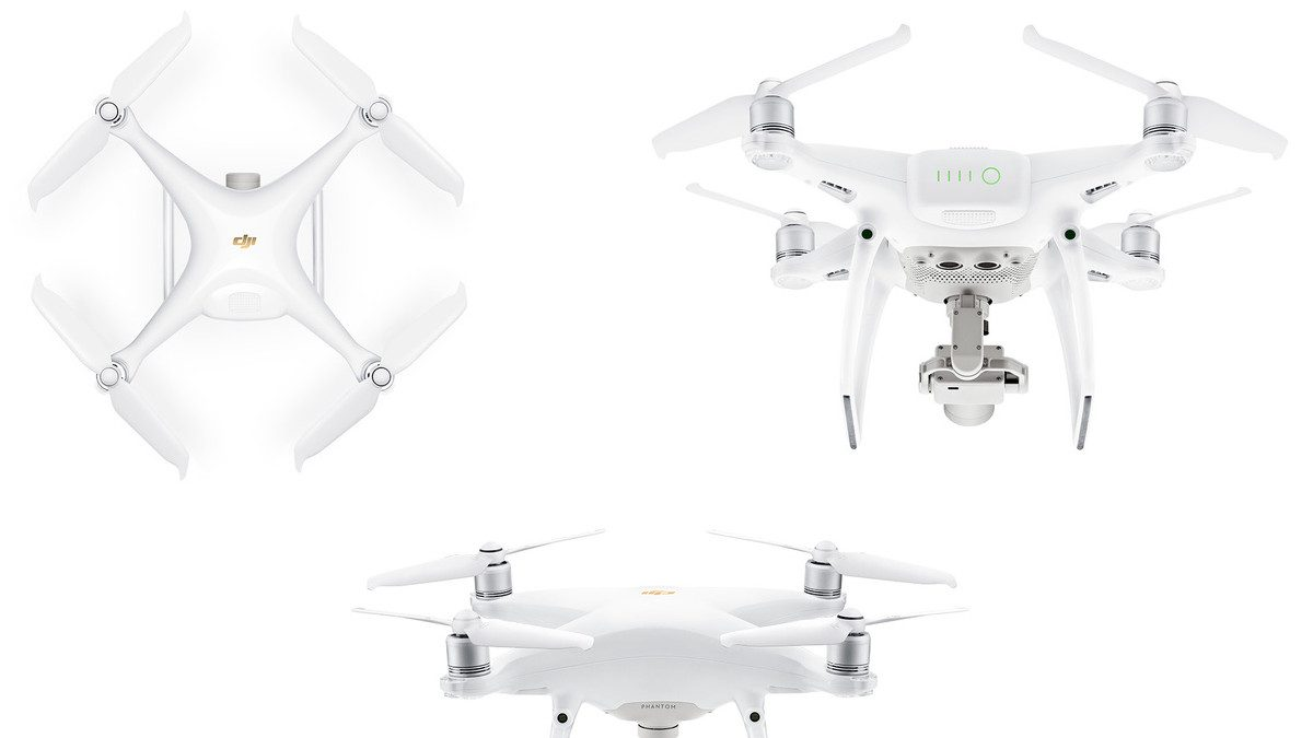 DJI Phantom 4 Pro V2 stock images