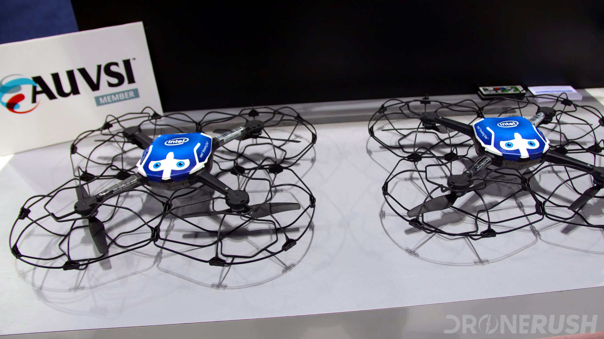 Intel Shooting Star drones AUVSI Xponential