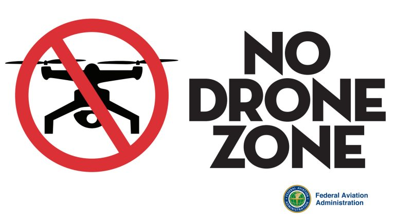 NoDroneZone FAA drone regulations