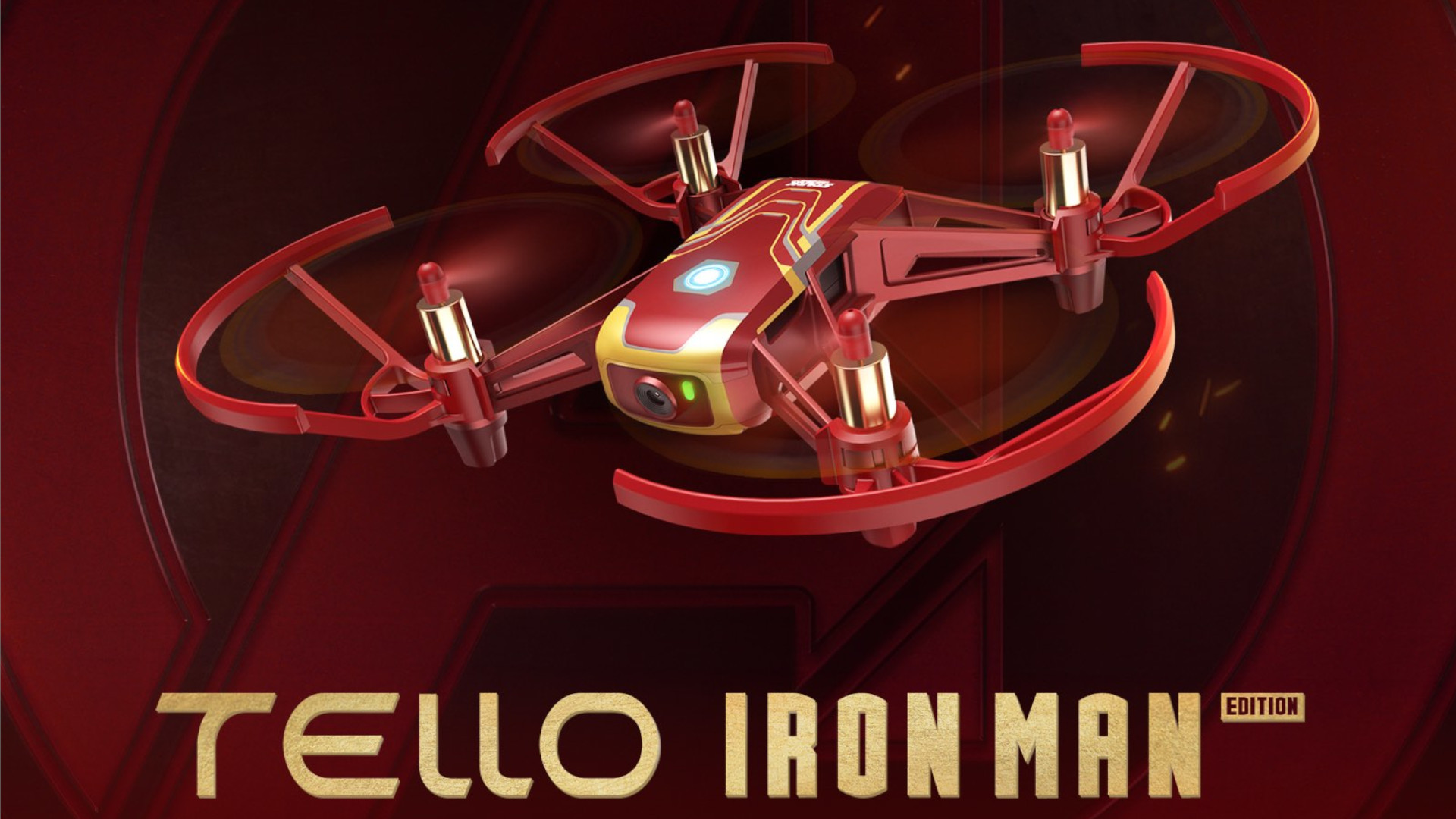 Ryze Tello Iron Man Edition banner