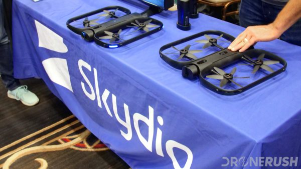 Skydio booth at InterDrone 2018