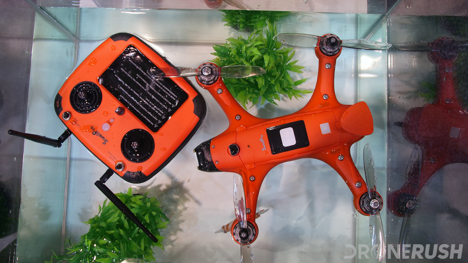 Swellpro Spry waterproof drone at CES 2019