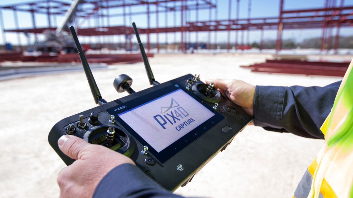 Yuneec H520 with Pix4Dcapture mission planning and mapping