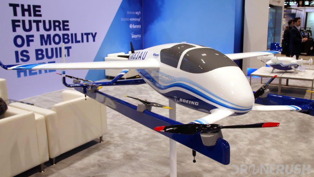 Boeing Aurora passenger drone AUVSI Xponential 2019