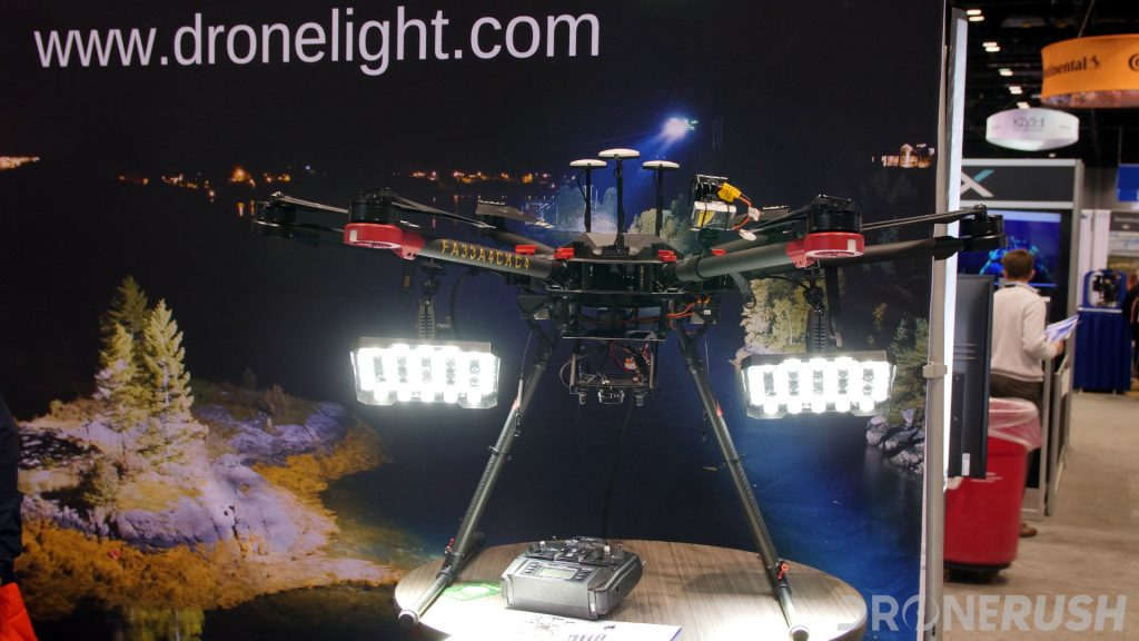 Luminell drone lights AUVSI Xponential 2019
