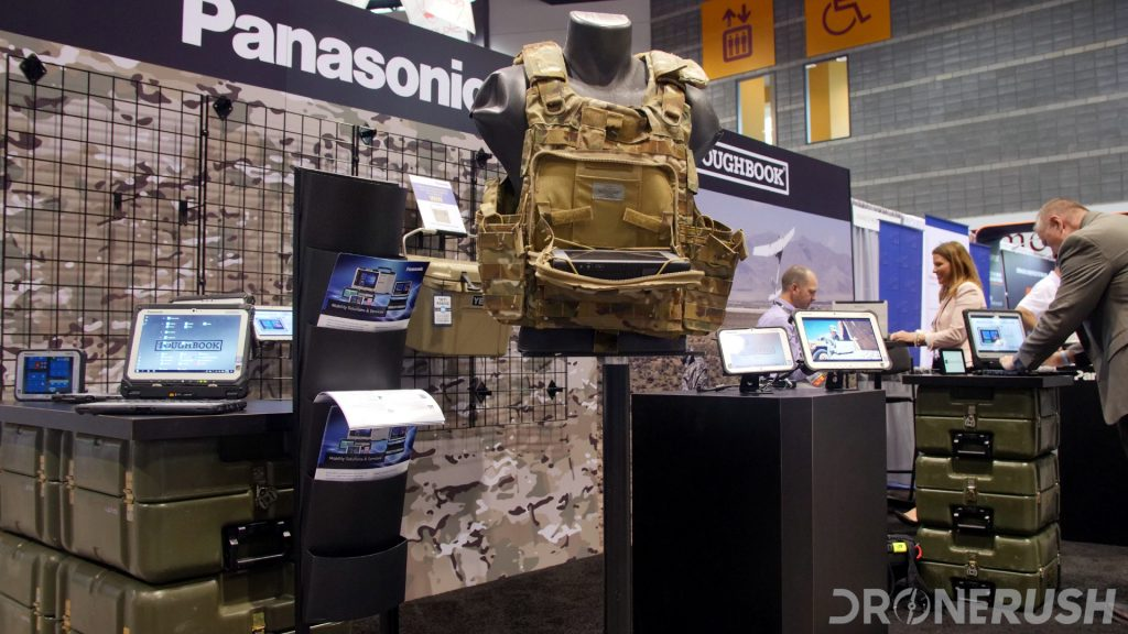 Panasonic Toughbook Toughpad at AUVSI Xponential 2019