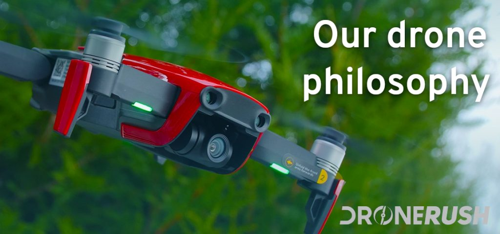Drone Rush our philosophy narrow