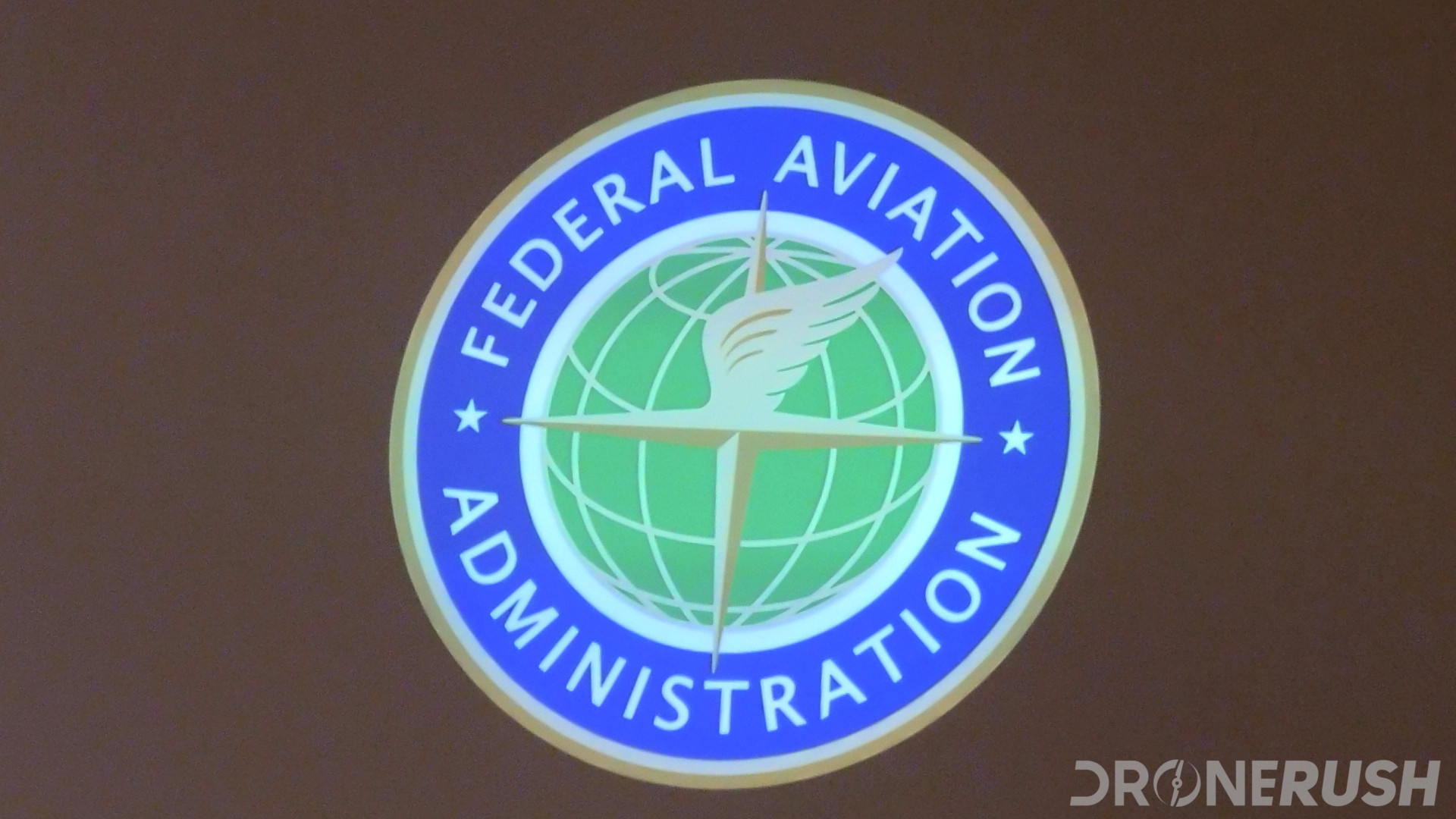 FAA logo interdrone 2019