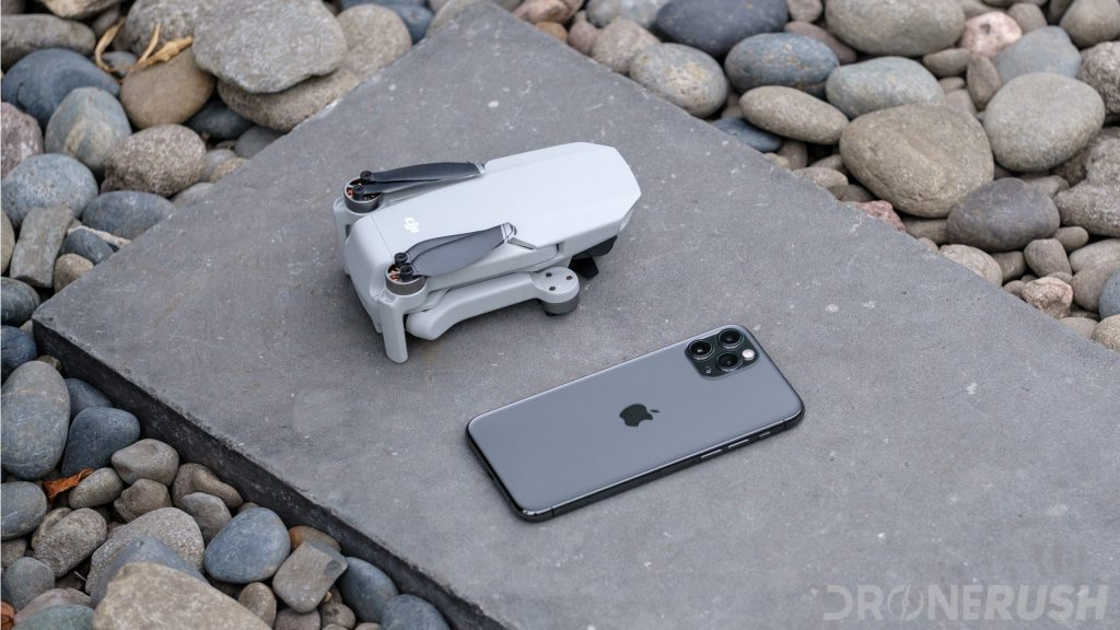 DJI Mavic Mini launch folded