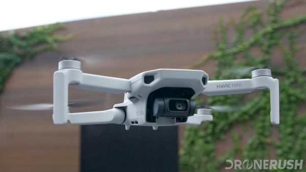 DJI Mavic Mini launch front flying