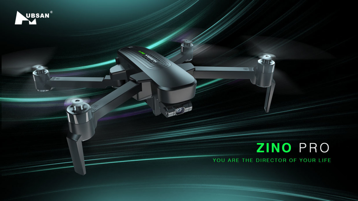 Hubsan Zino Pro folding drone featured