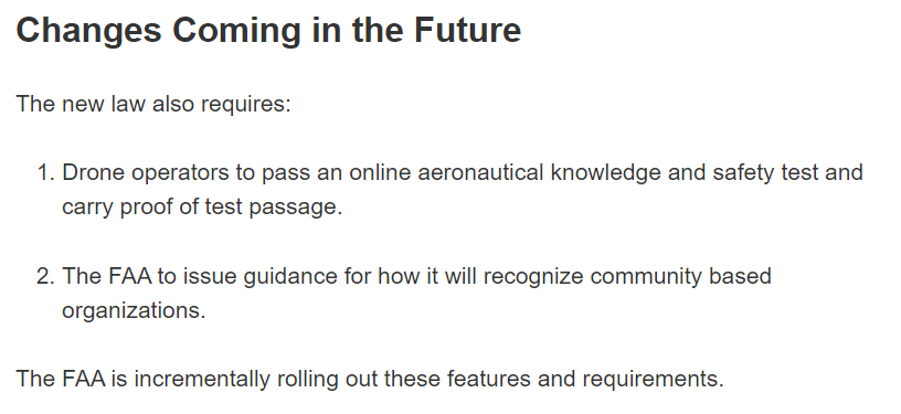 Changes coming FAA