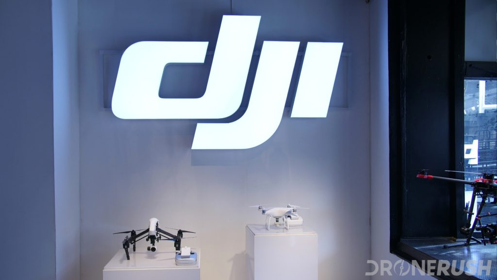 DJI Inspire 2 DJI Phantom 4 Pro announcement store