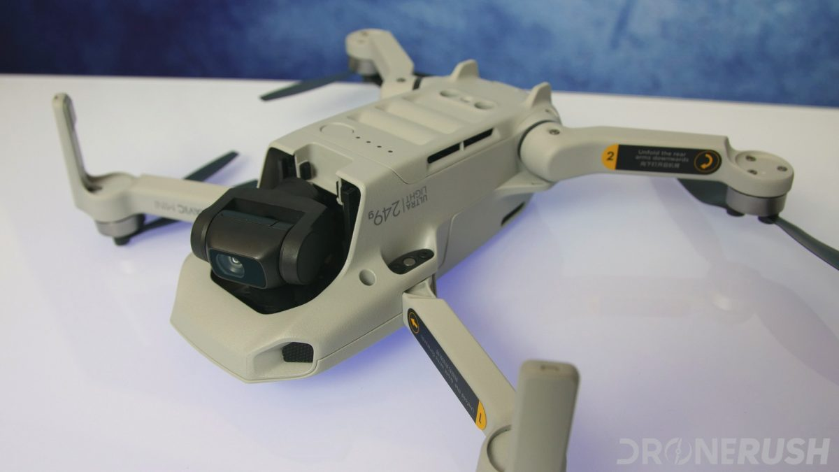 DJI Mavic Mini review bottom front