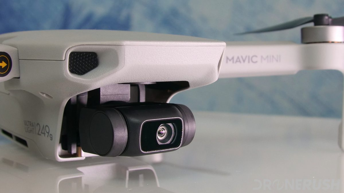 DJI Mavic Mini review camera light