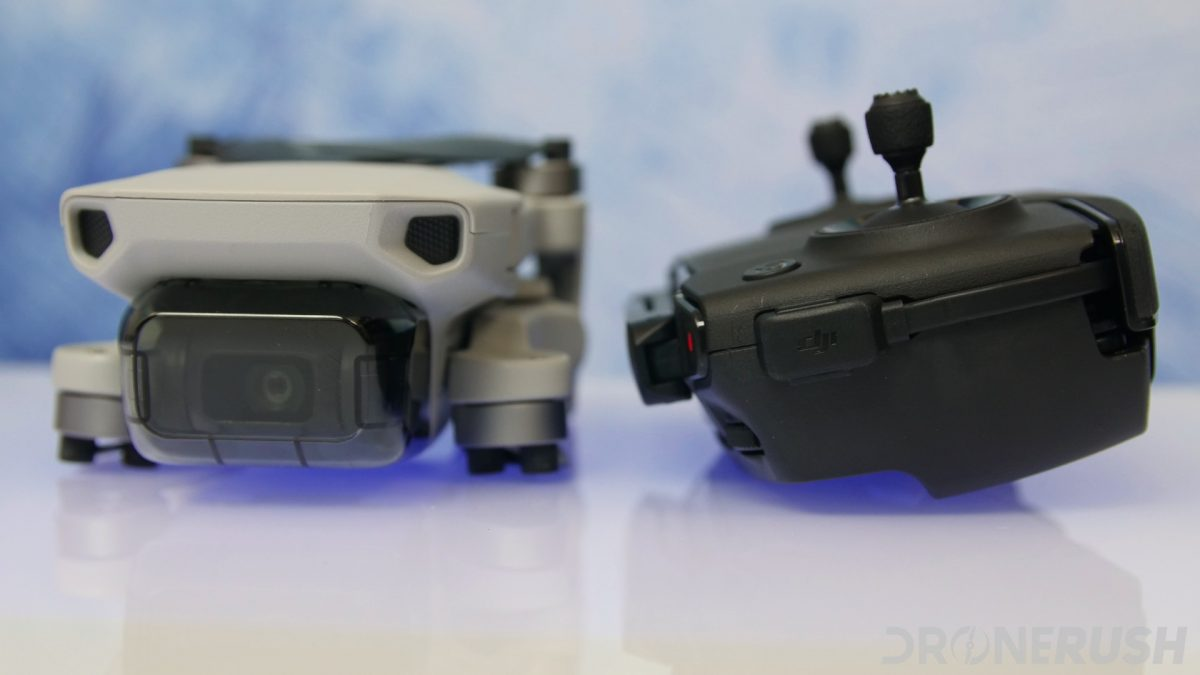 DJI Mavic Mini review front and remote side