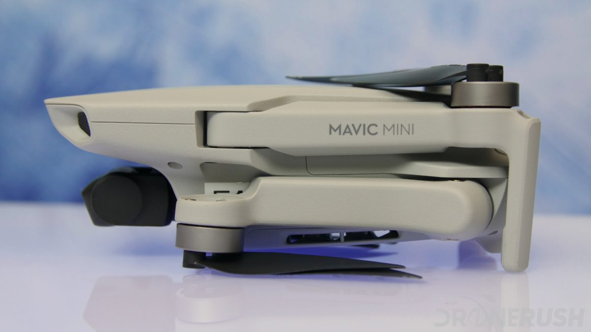 DJI Mavic Mini review logo folded side