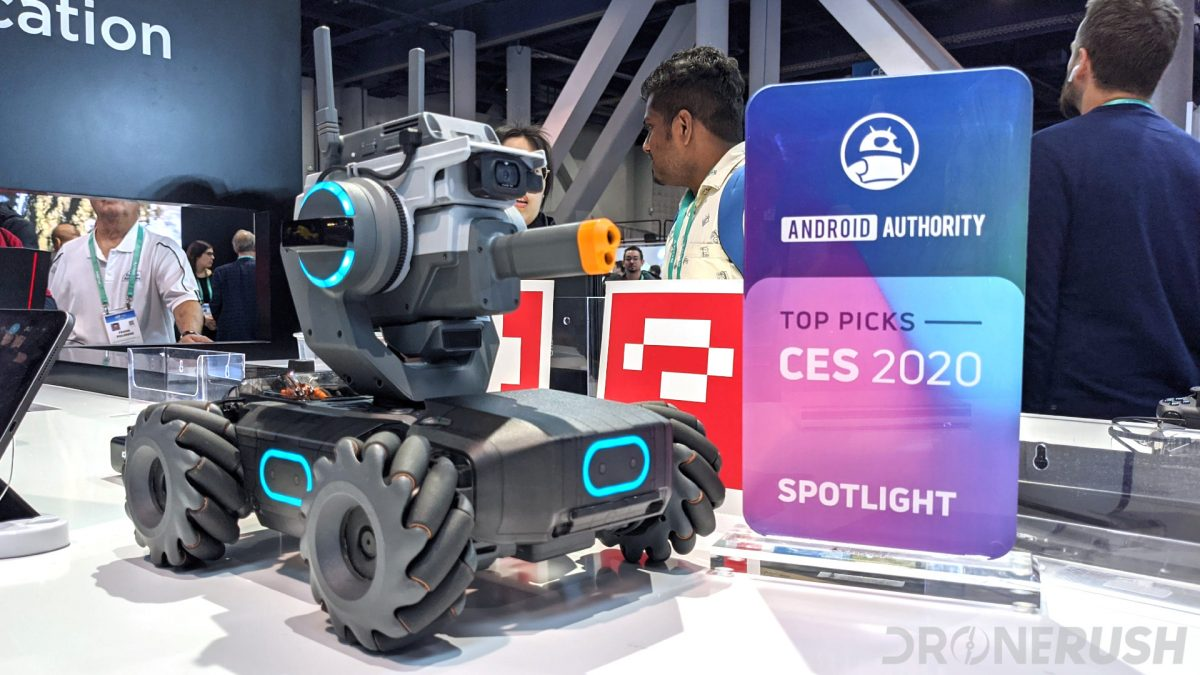 DJI Robomaster S1 Android Authority Top Picks Spotlight award CES 2020