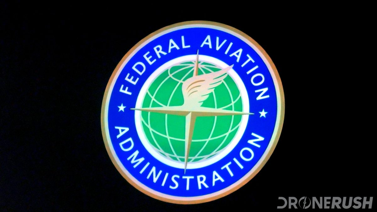 FAA Logo from Interdrone 2019