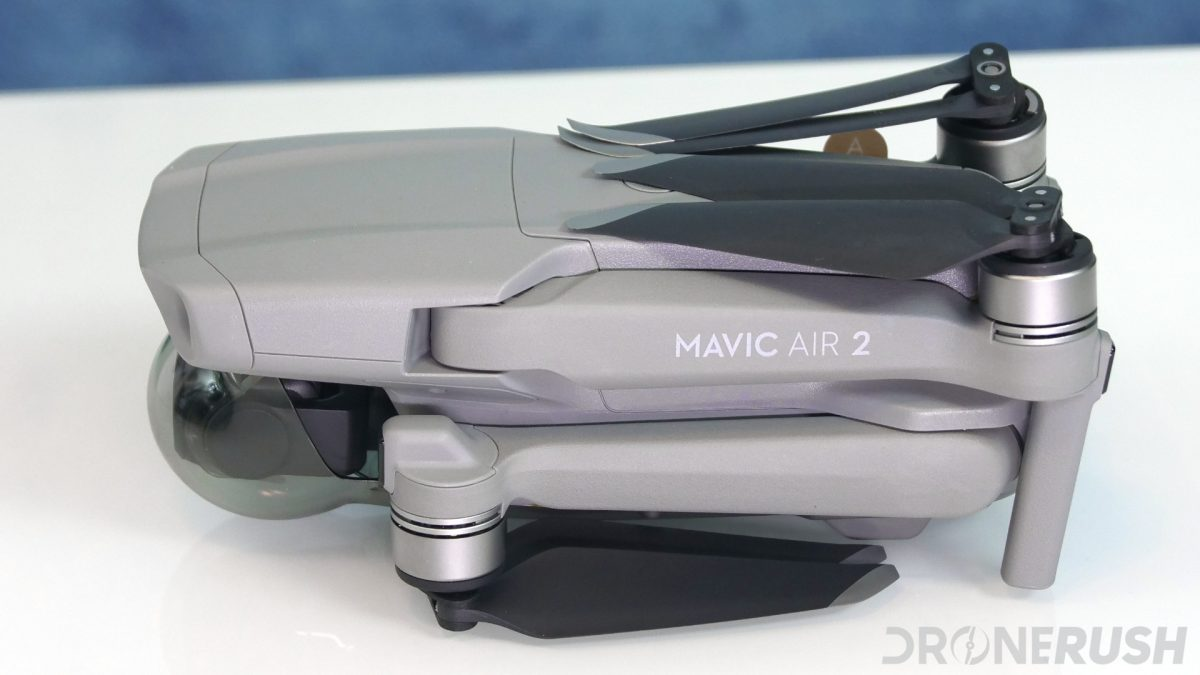 DJI Mavic Air 2 side folded