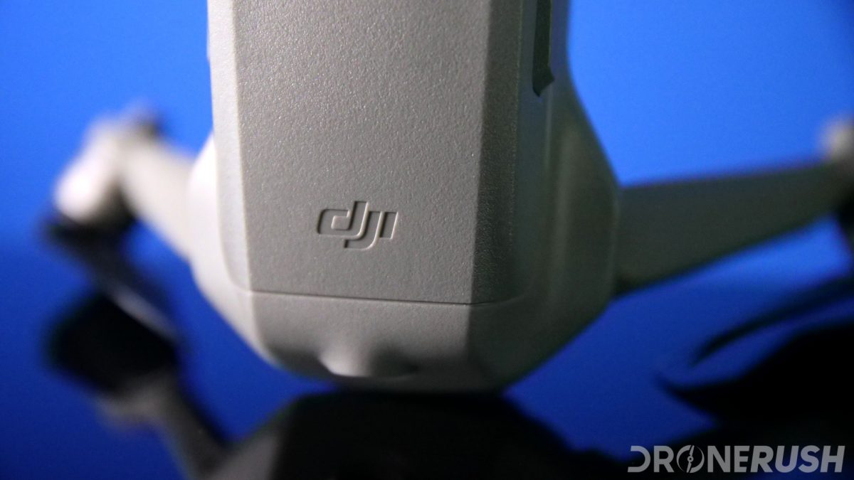 DJI logo on Mavic Air 2