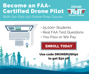 Save $50 off Drone Pilot Ground School
